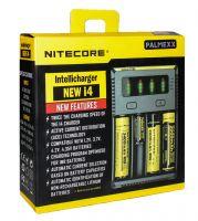 Зарядное устройство NITECORE для аккумуляторных батарей Intellicharger NEW i4