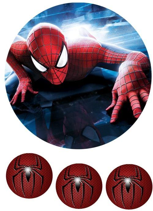 Вафельная картинка Чел паук  (3)