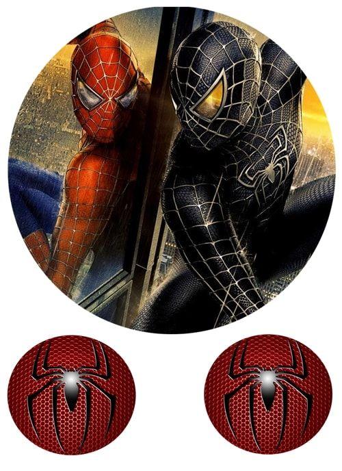 Вафельная картинка Чел паук  (4)