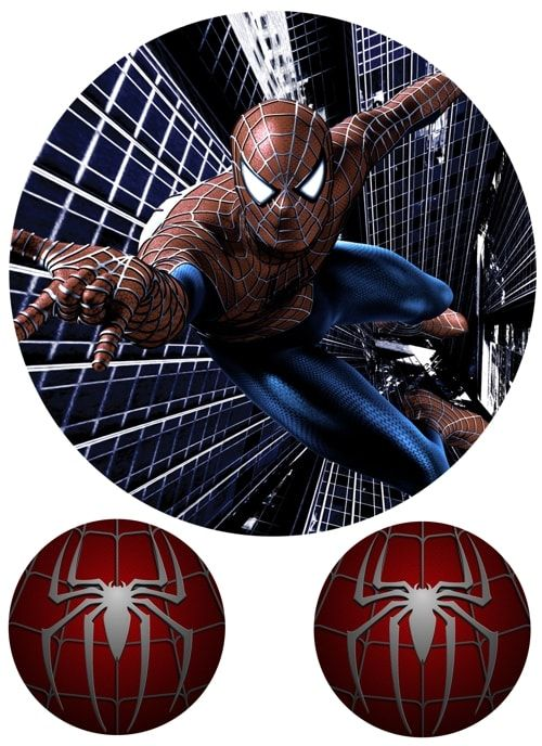 Вафельная картинка Чел паук  (8)