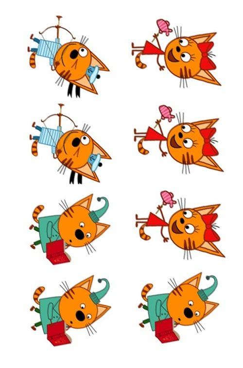 Вафельная картинка 3 Кота (1)