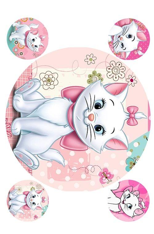 Вафельная картинка Кот арист (3)