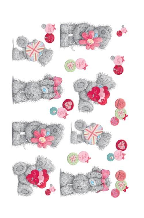 Вафельная картинка Мишки теди  (4)