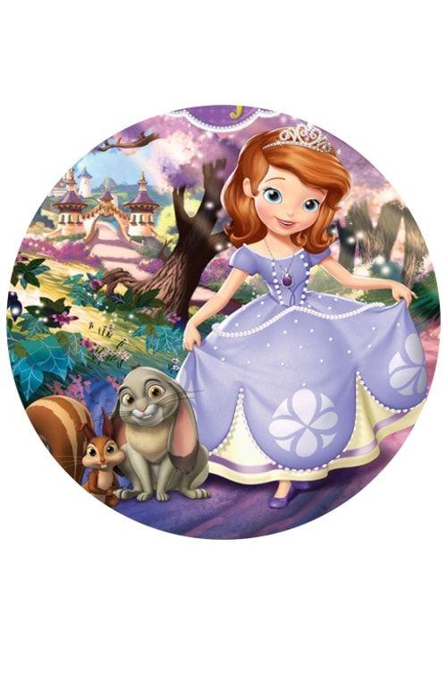Вафельная картинка Принцеса  (2)