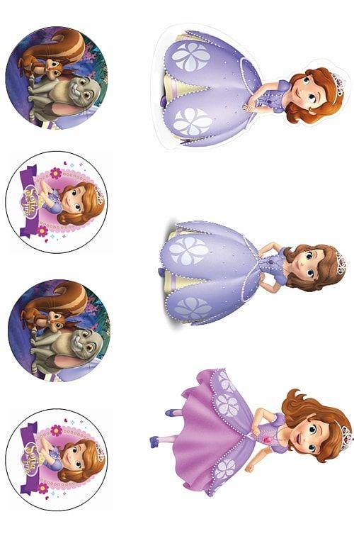 Вафельная картинка Принцеса  (5)