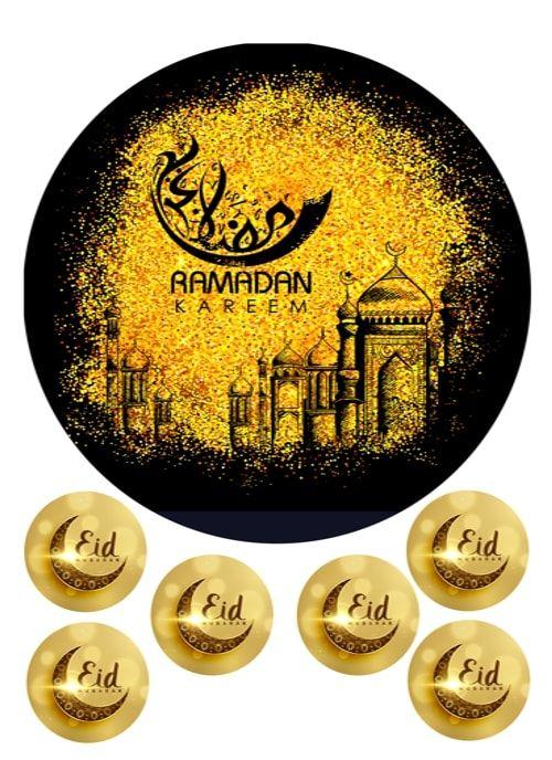 Вафельная картинка Рамадан   (14)