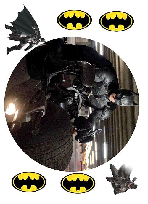 Вафельная картинка Супермен и бэтмен   (1)