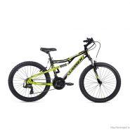 "Велосипед Larsen Fighter Black/Lime 18ск, (18,24"") черный/салатовый"