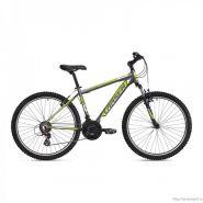 """Велосипед Larsen Rapido Dark Gray/ Lime 21ск, (18,26"""") темно-серый/салатовый"""