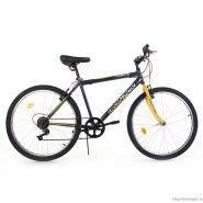 "Велосипед Iron Fox Force 26 Black/ Yellow 6ск, (18,26"") черный/желтый"