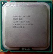 Процессор Intel Celeron 430 - lga775, 65 нм, 1 ядро/1 поток, 1.8 GHz [491]