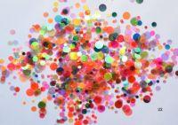 Конфетти, камифубуки #22 микс прозрачные для дизайна ногтей, голографические