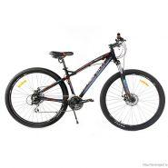 "Велосипед Meratti Protus Uno Black/Blue 24ск, (17, 29"") черный / голубой"