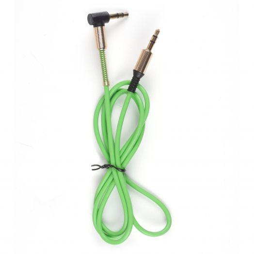 Кабель Oleeps AUX OL-3234 (зеленый)