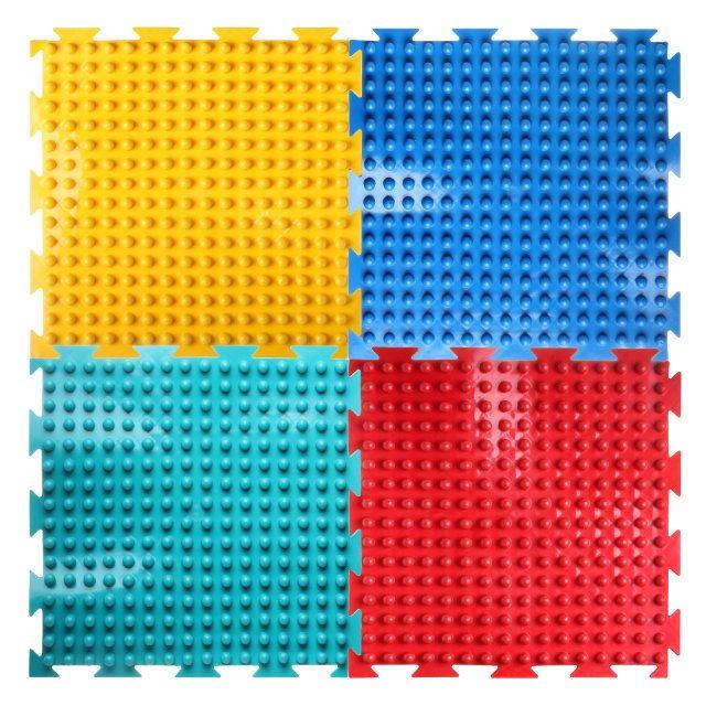 Модульный массажный коврик ОРТО «Шипы», мягкие