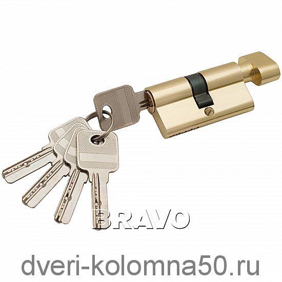Цилиндр 60-30/30 ключ/фиксатор