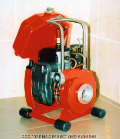 Мотопомпа лесопожарная облегченная МЛ-1-О (высоконапорная - пожарная, 180 л/мин)
