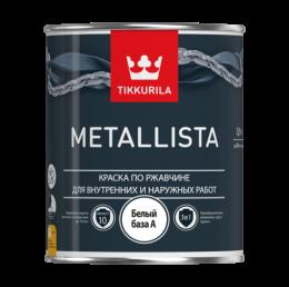 Краска по ржавчине для внутренних и наружных работ Tikkurila Metallista - Металлиста