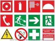 Знаки пожарной безопасности (ГОСТ)