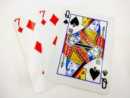 """Карточный набор """"Угадай в какой руке"""""""