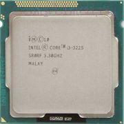 Процессор Intel i3-3225 - lga1155, 22 нм, 2 ядра/4 потока, 3.3 GHz, 55W [4334]