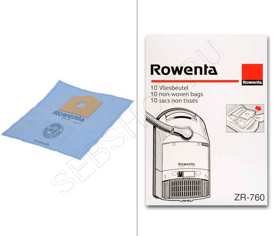 Мешки для пылесосов ROWENTA (Ровента)  . Артикул ZR760