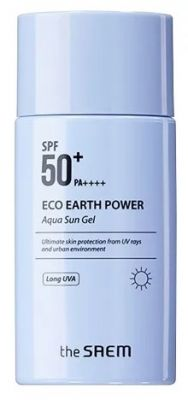 THE SAEM Sun Крем-гель солнцезащитный SPF50 Eco Earth Power Aqua Sun Gel SPF50+ PA+++ N