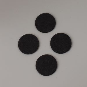 `Фетровые пяточки 40мм, цвет № 55 темно-серый (1уп = 20шт)