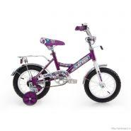 """Велосипед Larsen kids 12"""" (16,12"""") Фиолетовый"""