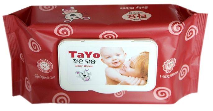 """""""TAYO"""" детские влажные салфетки"""
