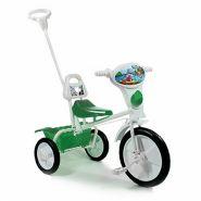 """Детский велосипед """"Малыш"""" 09/03П, спинка, упр. ручка, кузовок  зеленый"""