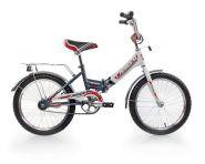 """Велосипед Larsen Junior 18"""" (16,18"""") Серый/ белый"""