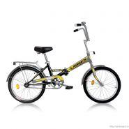 """Велосипед Larsen Way Black/Yellow 1ск, (18,20"""") черный/желтый"""