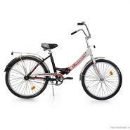 """Велосипед Larsen Tourist (16, 24"""") Чёрный/белый"""