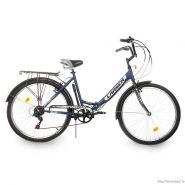 """Велосипед Larsen Forest 2.0 Dark Blue/ Black Matt 6ск, (18,26"""") синий/черный матов"""