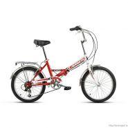 "Велосипед Larsen Jet 2.0 Red/White 6ск, (18, 20"") красный/белый"