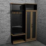 Мебель для прихожих Честер- Лофт