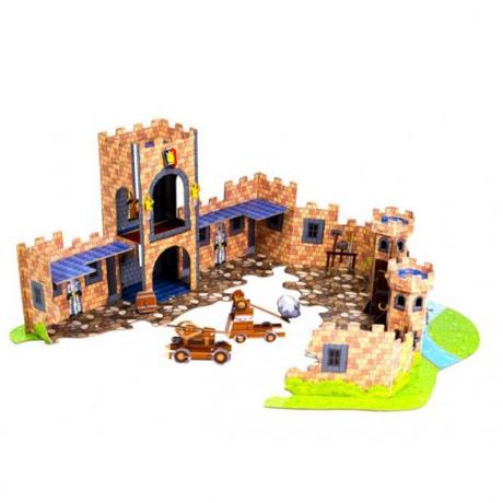 Stikbot Замок – анимационный мини-павильон с декорациями