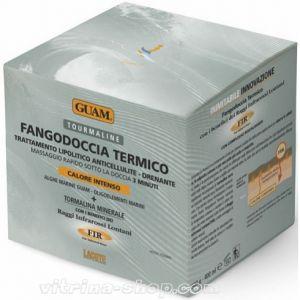 Guam Маска для массажа в душе с разогревающим эффектом с микрокристаллами Tourmalinet, 500 гр.