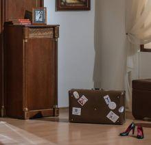 Тумба ЭЛЕГАНЦА для обуви петли справа эмаль