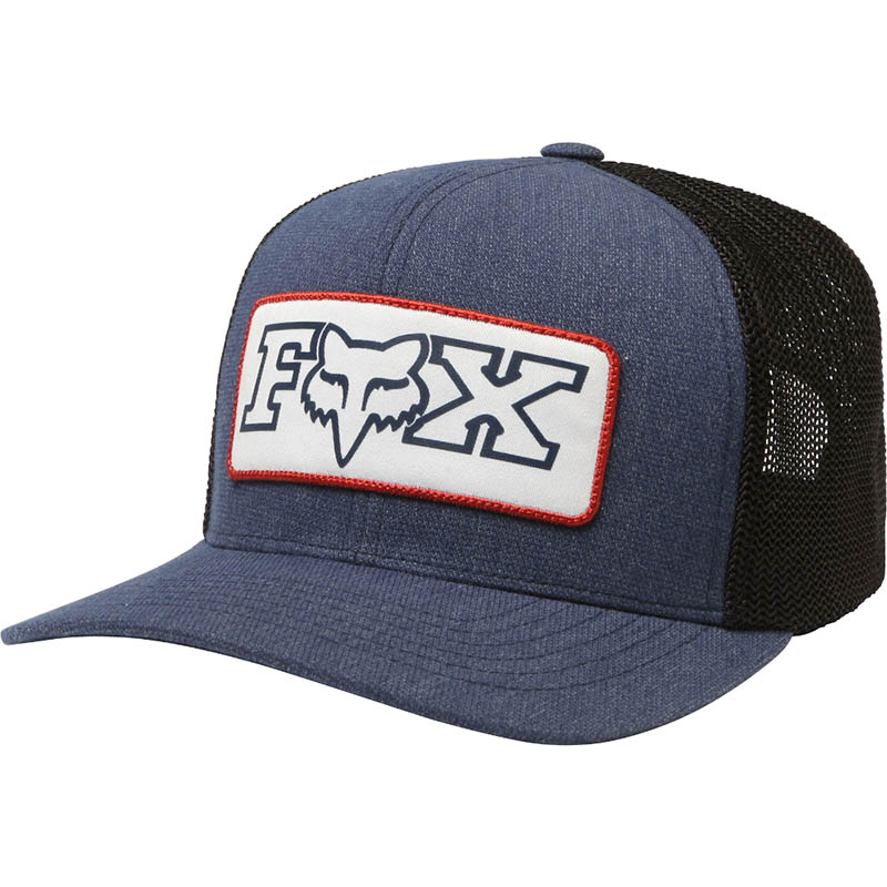 Fox - Honorarium 110 Snapback Hat Heather Midnight бейсболка