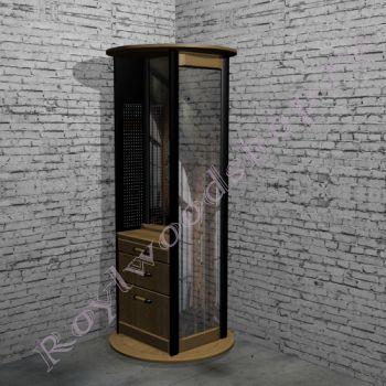 """Мебель для прихожей  """"Честер- Лофт"""" Угловой элемент. 4 в одном."""