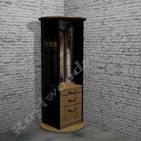 """Мебель для прихожей  """"Честер- Лофт"""" Угловой элемент. 4 в одном.-4"""