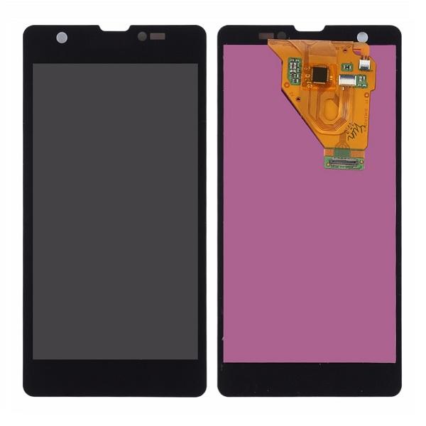 Дисплей для Sony Xperia ZR в сборе с сенсорным стеклом (копия AAA)