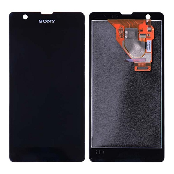 Дисплей для Sony Xperia ZR в сборе с сенсорным стеклом (Original)