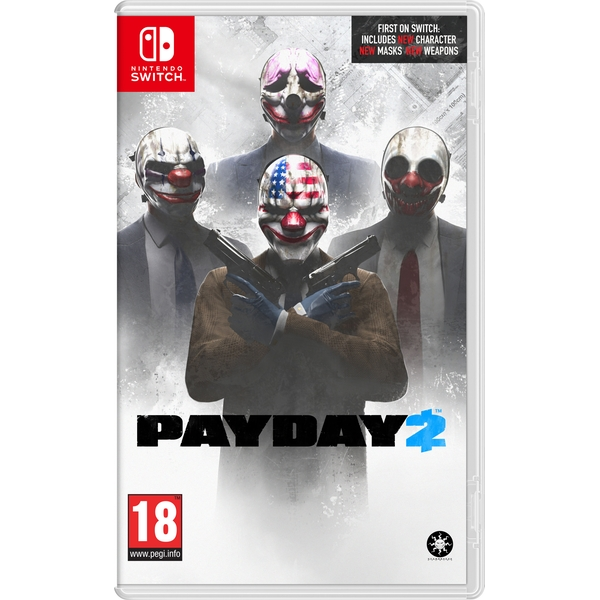 Игра PayDay 2 (Nintendo Switch)