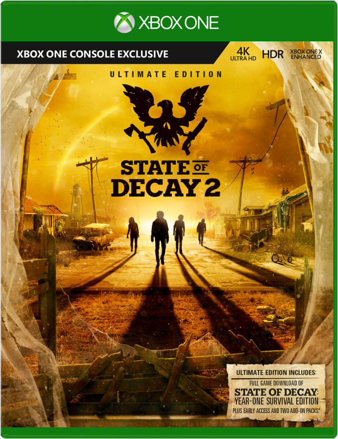 Игра State Of Decay 2 Ultimate Edition (Xbox One)