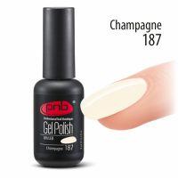 Цветной гель-лак PNB (Professional Nail Boutique) №187, 8 мл