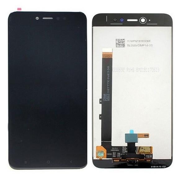 Дисплей в сборе с сенсорным стеклом для Xiaomi Redmi Note 5A Prime (восстановленный Original)