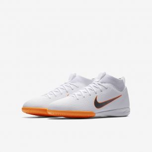 Детская обувь для зала NIKE JR. MERCURIALX SUPERFLY VI ACADEMY AH7343-107 JR